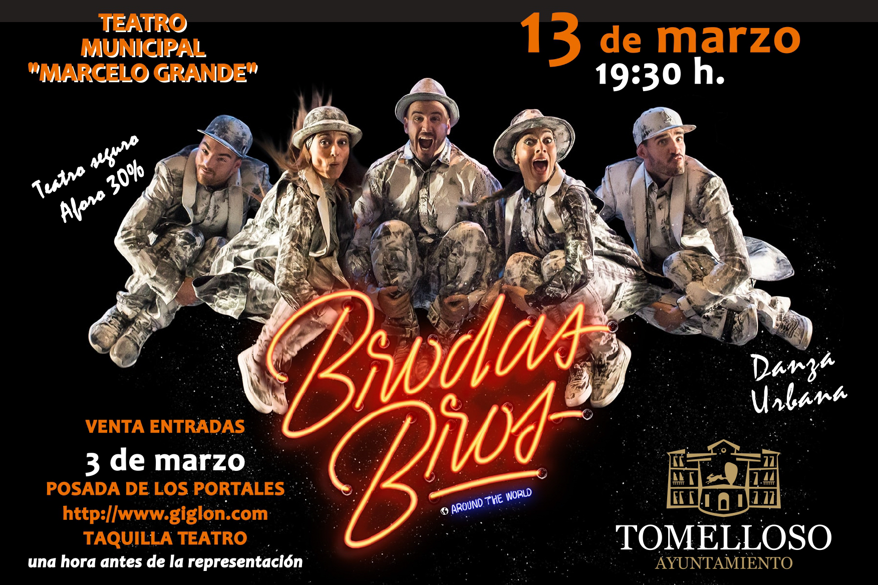 "Foto de Brodas Bros presenta su espectáculo ""Around the World"" en el Teatro Municipal el próximo 13 de marzo"
